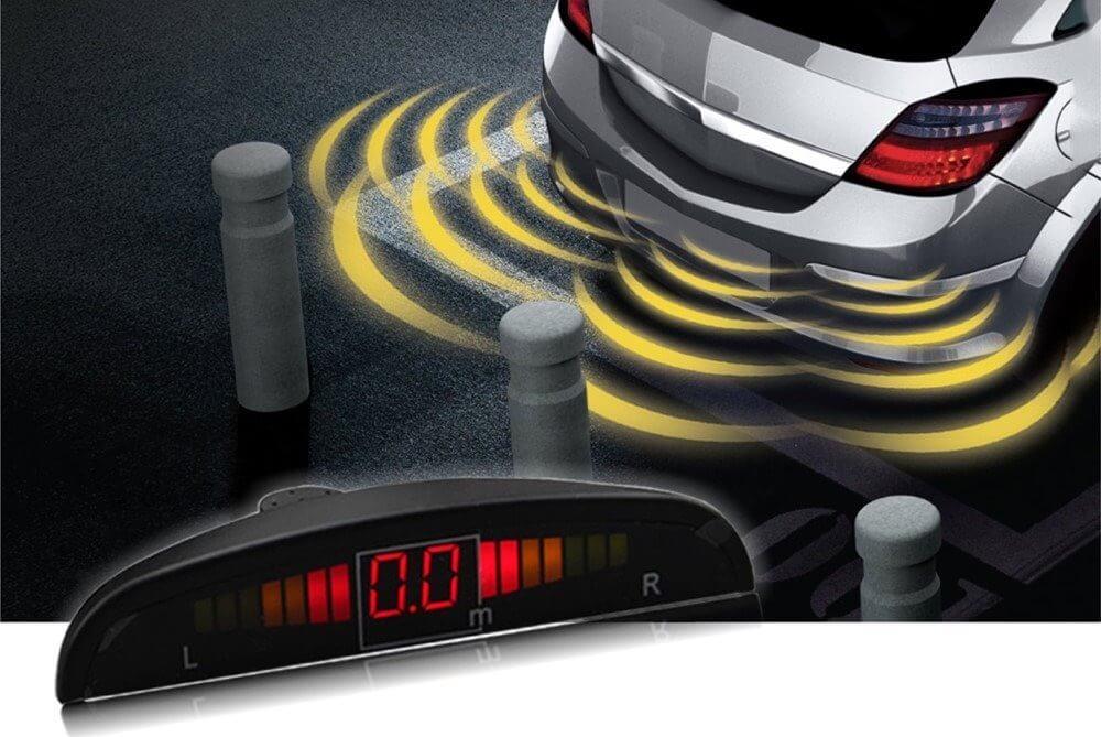 Sensor De Estacionamento Ré 4 Pontos Sonoro