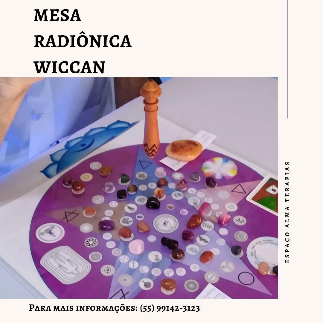 Atendimento Com Mesa Radionica Wicca à Distância