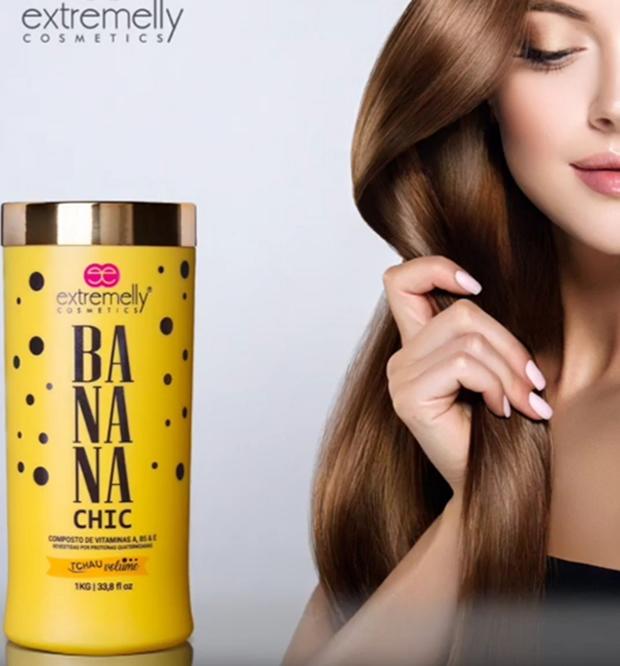 Botox Banana Chic Orgânico + Corte+ Cauterização