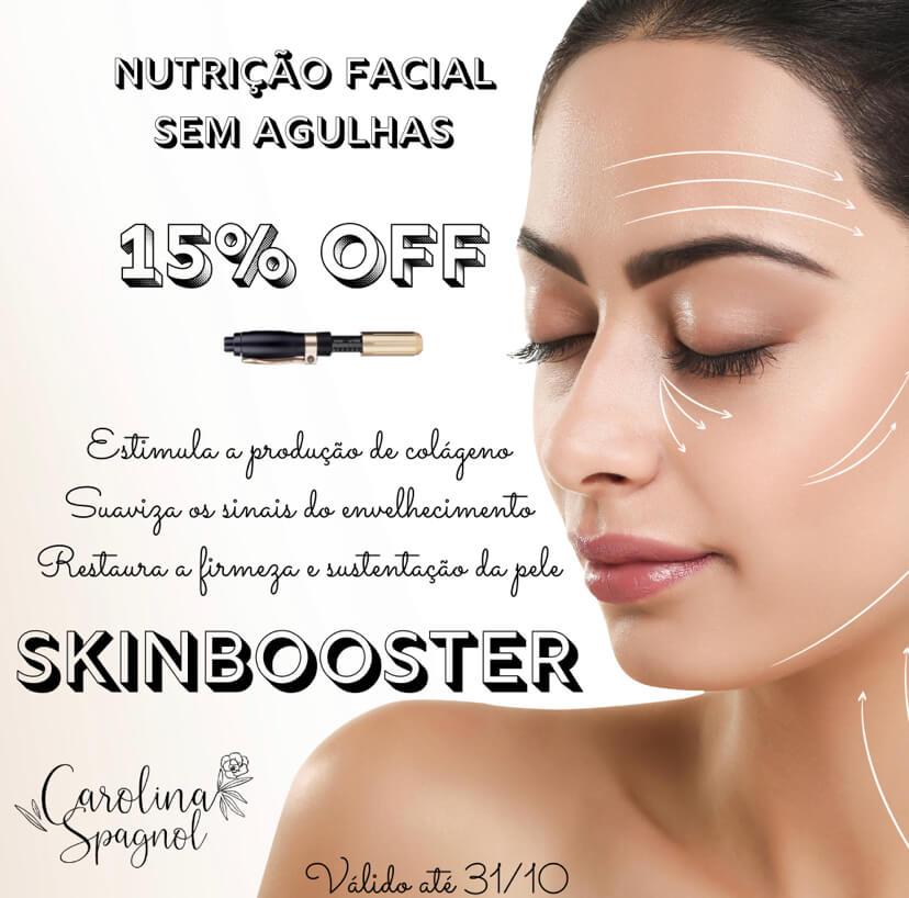 Cansada Das Linhas De Expressão? Opte Pelo Skinbooster Facial Efeito Lifting Preenchedor